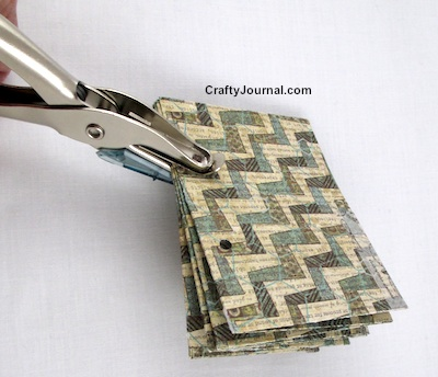 Basic Folded One Sheet Book - Crafty Journal