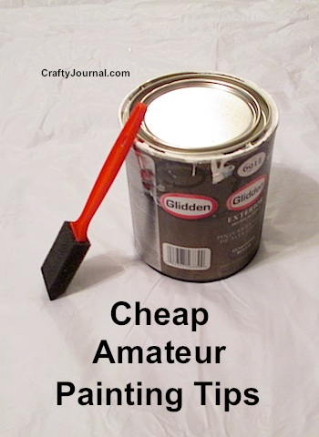 Cheap Amateur Painting Tips - Crafty Journal