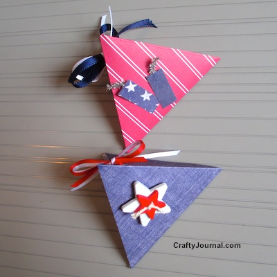 Patriotic Mini Gift Box - Crafty Journal