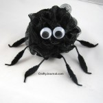 Bath Pouf Spider