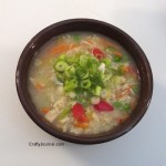 Zesty Chicken Rice Soup, Gluten Free