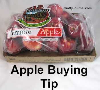 Apple Buying Tip - How to Get Your Apples Home without Bruising. by Crafty Journal
