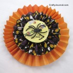 Black Widow Paper Rosette