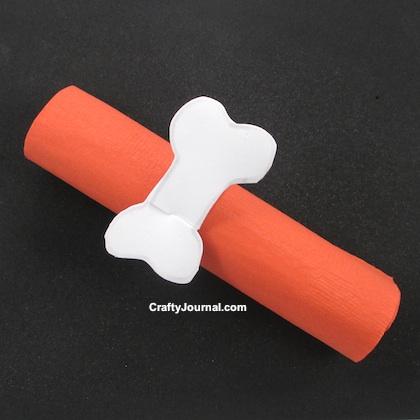 Bone Appetit Napkin Ring by Crafty Journal