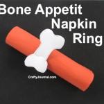 Bone Appetit Napkin Ring