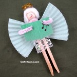 Clothespin Angel