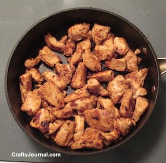 Easy Chicken Skillet by Crafty Journal