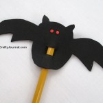 Vampire Bat Pencil Topper