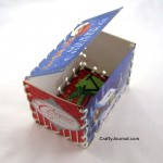 Easy Whip Stitched Christmas Card Box
