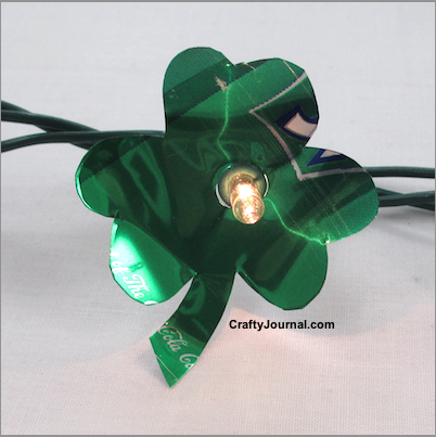 Shamrock soda can lights shamrock soda can lights by crafty journal voltagebd Images