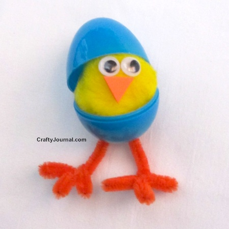 Hatching Chick by Crafty Journal