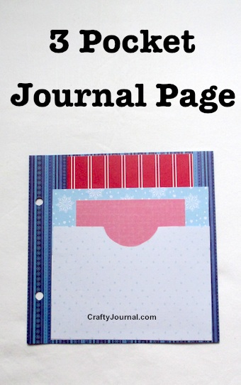 3 Pocket Journal Page by Crafty Journal