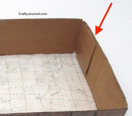 how to put together a cardboard box without tape 1