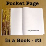 Pocket Page in a Book – Idea #3