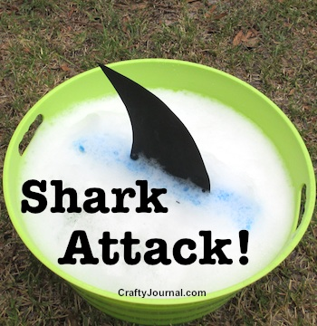 Kids will love Shark Attack! by Crafty Journal