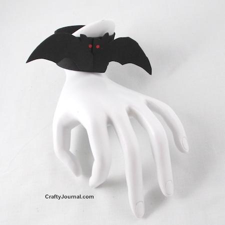 Pet Vampire Bat Bracelet by Crafty Journal