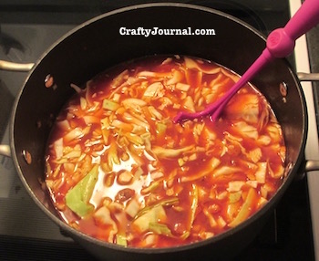 Cabbage Roll Soup - Gluten Free by Crafty Journal