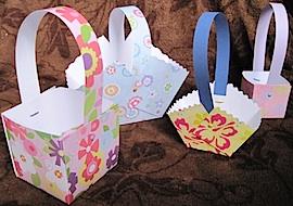 Paper Easter Basket Crafts