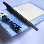 Acrylic Post-It Note Holder