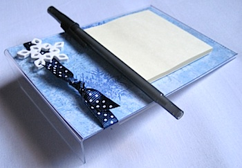 Acrylic Post It Noteholder