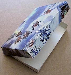 Greeting Card Pizza Box