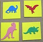 Dinosaur Matching Game for Toddler