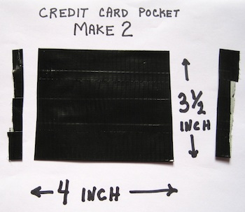 picture about Duct Tape Wallet Instructions Printable known as Duct Tape Wallet