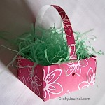 Origami Basket - Crafty Journal