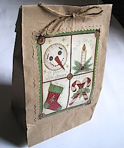 Crafty Journal - Lunchbag Gift Bag