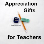Appreciation Gifts for Teacher