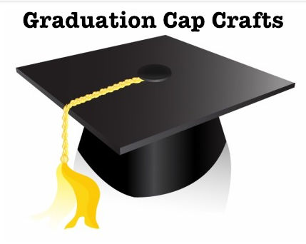 photo regarding Printable Graduation Cap Pattern called Commencement Cap Crafts