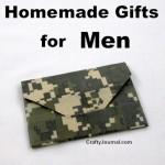 Homemade Gifts for Men