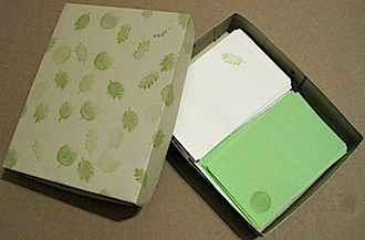 Toddler Note Card Box - Crafty Journal