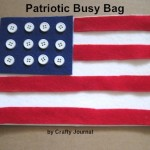 Patriotic Busy Bag
