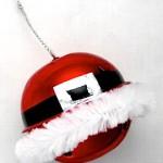 Santa Bell Ornament