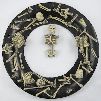 Crafty Journal - Boneyard Wreath
