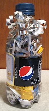 Soda Bottle Gift Wrap