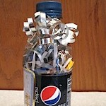 Soda Bottle Gift Wrap