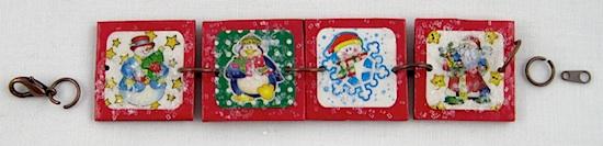 Christmas Charm Bracelet by Crafty Journal
