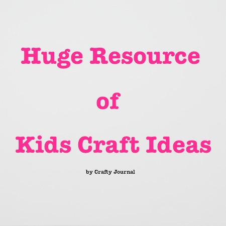 Kids Craft Ideas by Crafty Journal