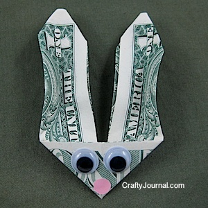 Bunny Money - Crafty Journal