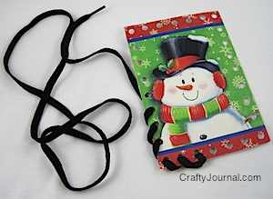 Used Christmas Card Crafts