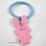 Bunny Stretch Bracelet and Bunny Necklace