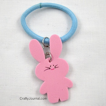 Bunny Stretch Bracelet - Crafty Journal