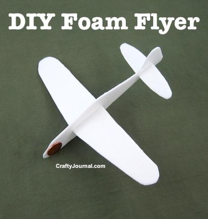 DIY Foam Flyer by Crafty Journal