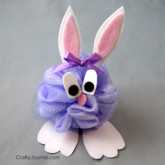 Hoppy Easter Bunny - Crafty Journal