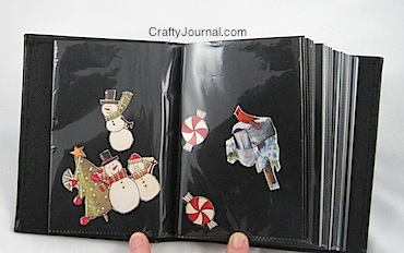 Crafty Journal - Paper Arts Storage Album