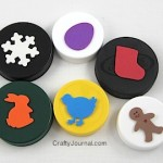 Plastic Lid Stamps - Crafty Journal