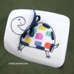 Milk Jug Sewing Card