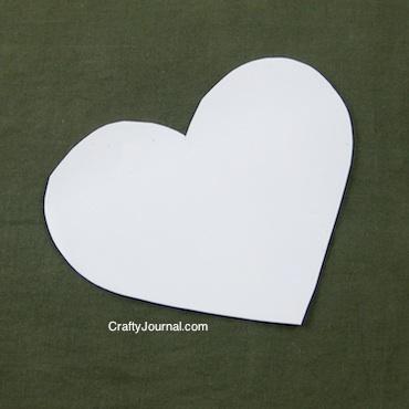 Crafty Journal - Milk Jug Template